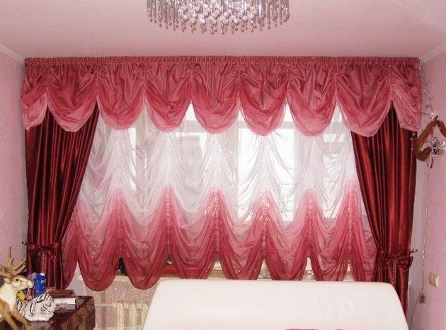 Шторы украсят и спартанскую обстановку кухни, придадут воздушности детской для девочки, подчеркнут красивую мебель в гостиной (фото 1)