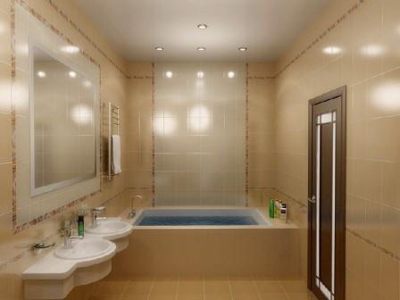 Отсутствие конденсата в ванной препятствует развитию грибка и вредных микроорганизмов
