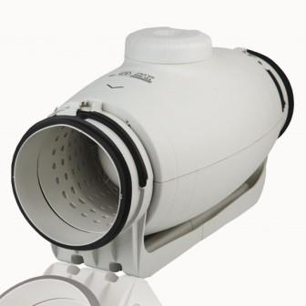 Канальные вентиляторы монтируются в воздуховод. Имеют крупные габариты и высокие цены