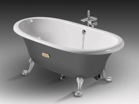 Чугунная ванна – это оптимальный вариант для любого санузла