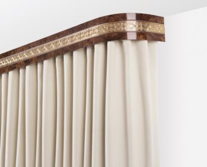 Правильно подобранная гардина для штор является залогом стильного и эффектного оформления интерьера