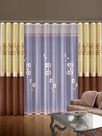Немаловажной для интерьера деталью являются готовые шторы
