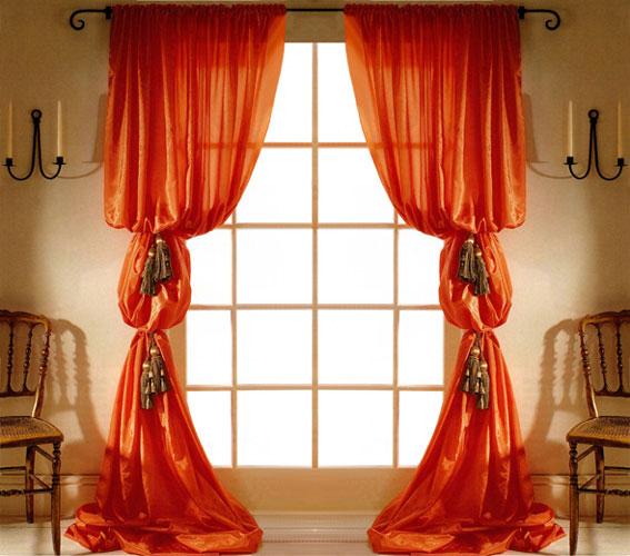 """Особенно такой тип занавесок, как """"рукав епископа"""", подходит для оформления гостиных и спален (фото 3)"""
