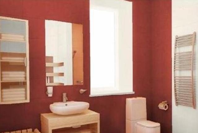 Использование краски для ванной комнаты является самым экономичным и простым решением для отделки помещения