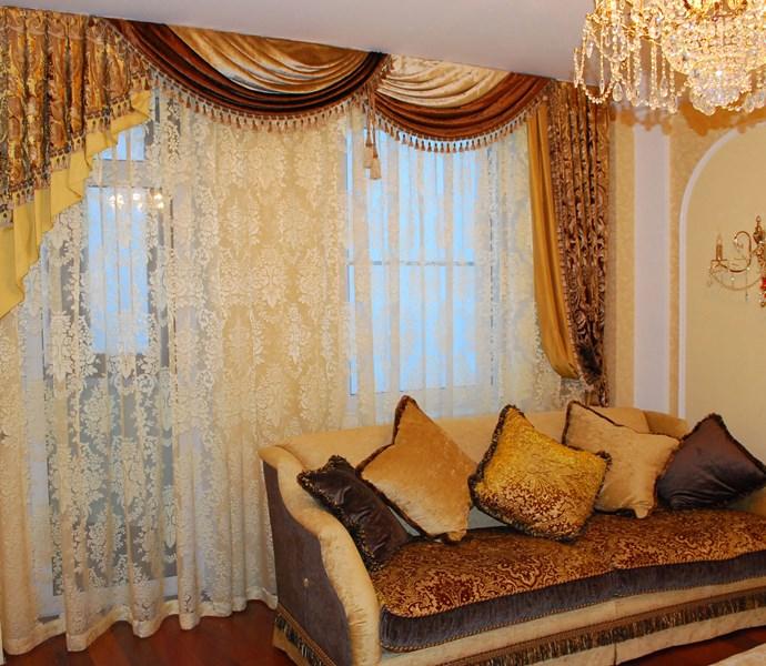 Интерьер комнаты во многом зависит от текстильного оформления окон