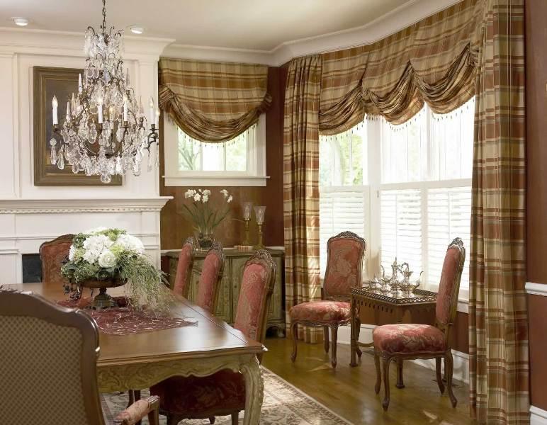 Английские шторы - это один из видов подъемных гардин