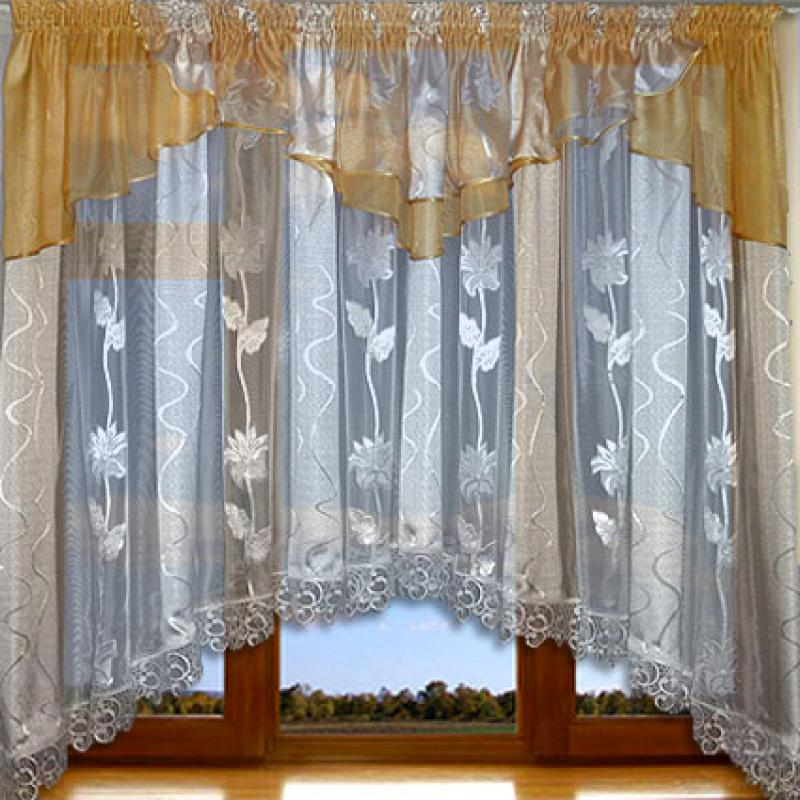 Арочная штора - это декор, который может стать как ярким, так и гармоничным элементом