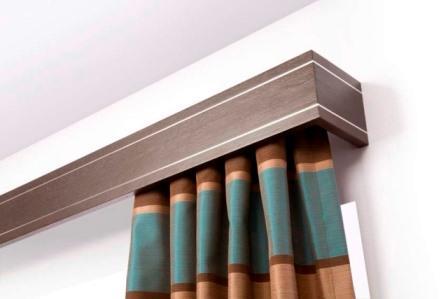 Багеты для штор применяются при ремонте и установке подвесного или натяжного потолка