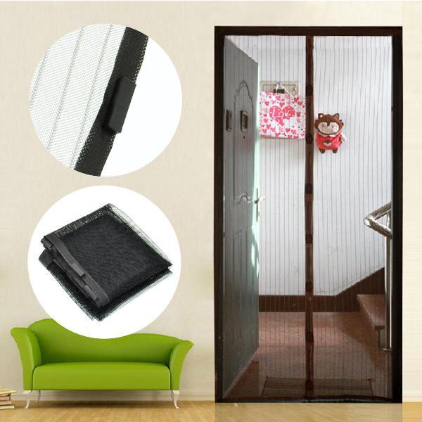 Магнитные дверные шторы - современный вид защитного полотна
