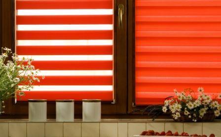 Сегодня особой популярностью пользуются рулонные шторы День-ночь