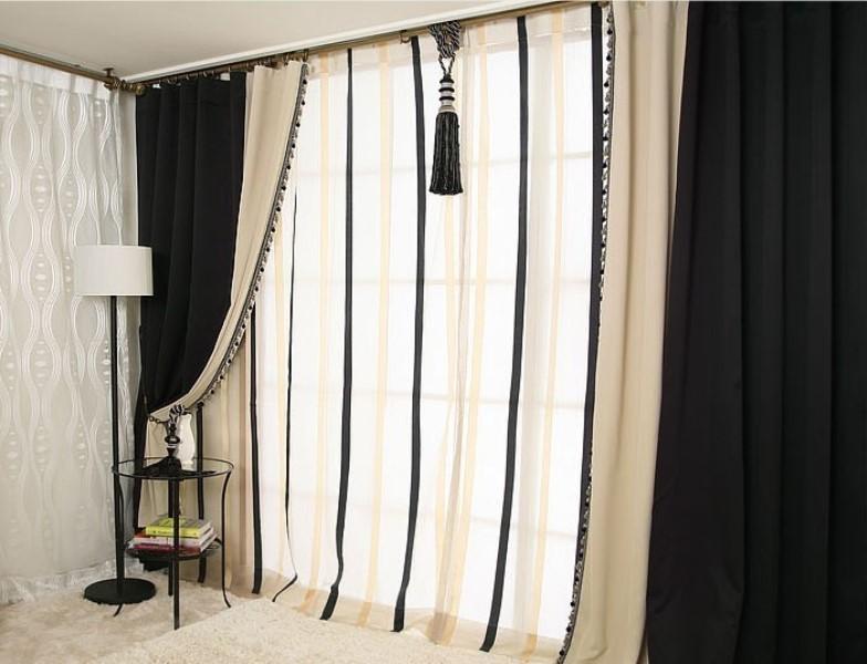 С правильным сочетанием цветов и фактур лишь благодаря одним шторам ваше помещение может стать настоящей иконой стиля в области интерьера комнат
