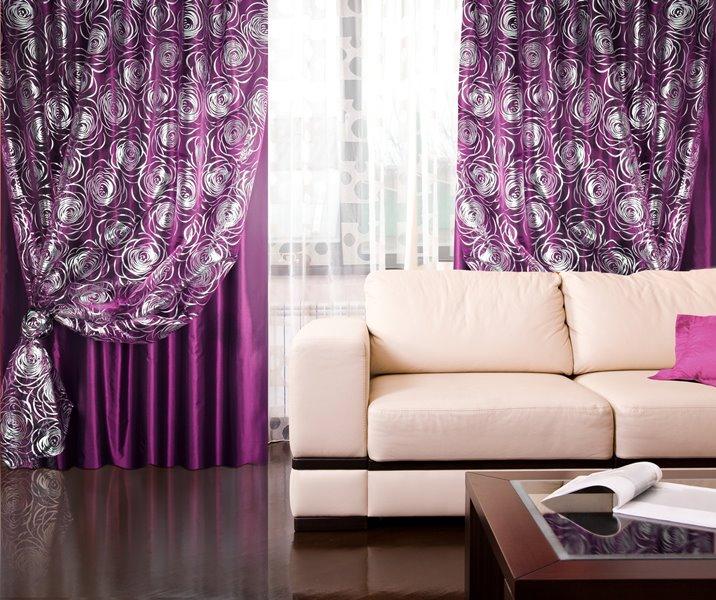 Сиреневые варианты подойдут для всех комнат в доме, начиная от кухни и заканчивая спальными комнатами
