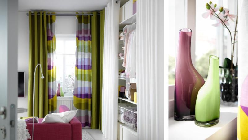 Чтобы придать комнате шикарный вид, лучше использовать в интерьере комбинацию нескольких видов гардин