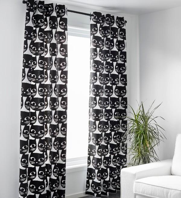 Компания IKEA своим покупателям предоставляет огромный выбор гардин в классическом и современном стиле