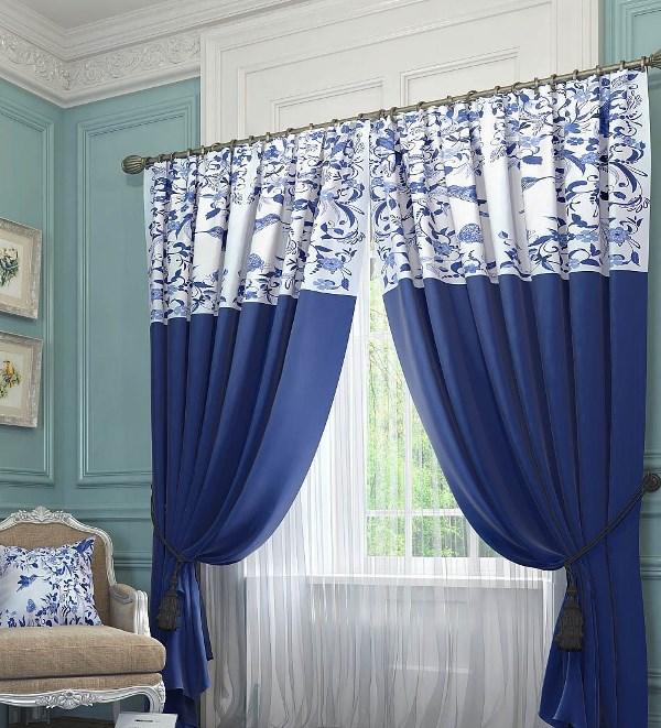 Если все-таки ваш выбор пал на чудесные шторы синего цвета или вам кажется, что отличным вариантом для дома могут быть прекрасные шторы голубого цвета, то вы на правильном пути