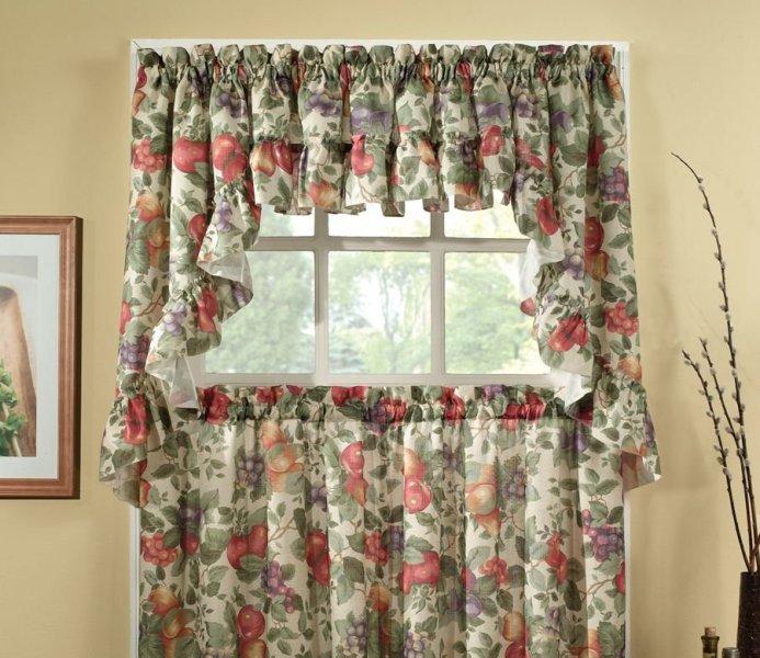 Выбирая стиль кантри в шторах, фото которых удивляют своим великолепием, вы дарите дому милый уют и приятную атмосферу
