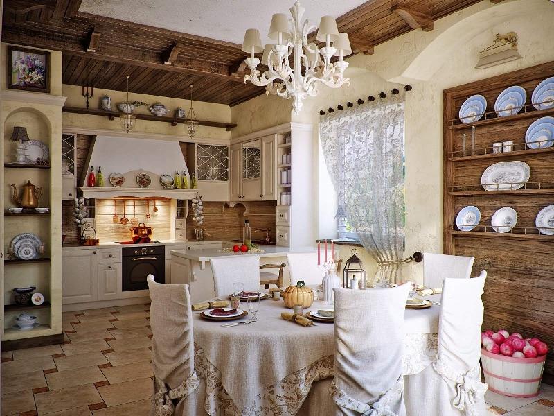 Колоритные шторы для деревенского дома - отличный способ украсить свою кухню милыми мотивами в стиле кантри и создать домашний уют и приятную обстановку