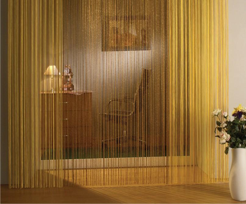 Нитяные шторы (фото 3)