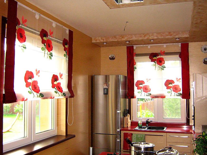 Римские шторы - это современные оригинальные конструкции