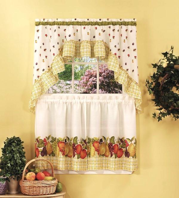 Шторы для кухни своими руками красиво оформят кухонное окно, в них автор реализует все свои задумки