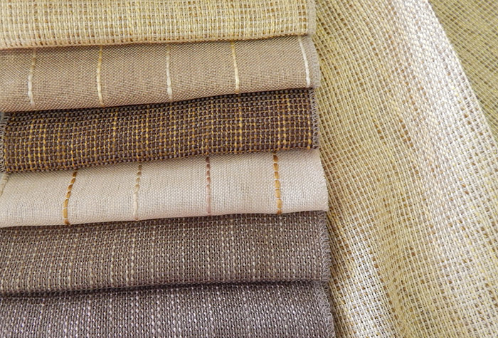 Linen for Curtains and Blinds  Natural Fabric
