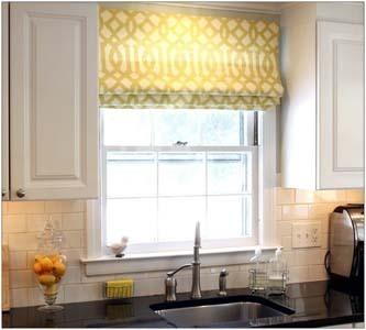 Красиво подобранные шторы для маленькой кухни делают кухню уютной и нарядной