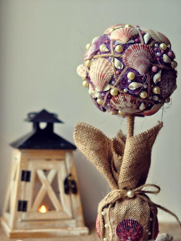 Чтобы изготовить топиарий своими руками, подойдут различные подручные средства - все зависит от фантазии мастера