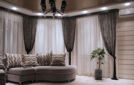 Если есть желание приобрести приятные шторы, кисея может стать отличным решением