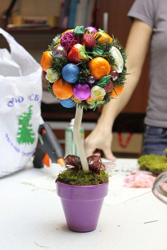 Дерево счастья создаст уютную атмосферу праздника в доме и поможет реализовать безграничные творческие навыки