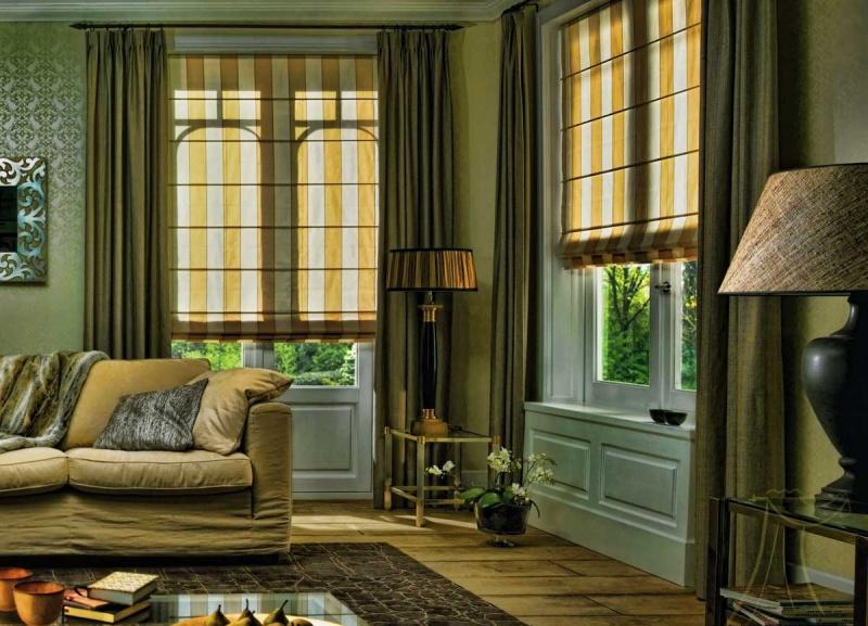 Шторы являются обязательной частью оформления интерьера любого помещения, имеющего окна