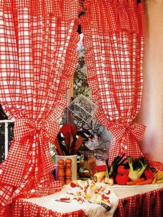 Сшить дизайнерские шторы на кухню своими руками не так сложно