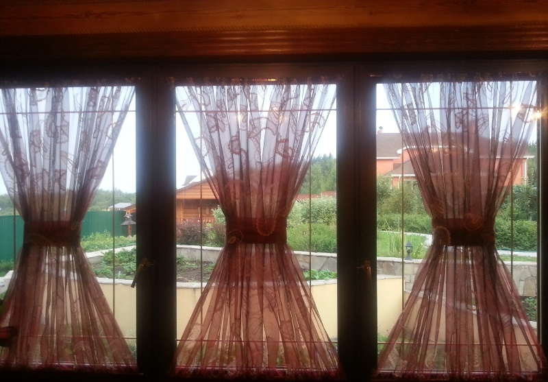 Шторки на окна своими руками 7