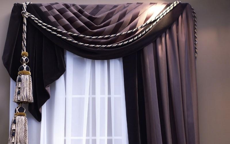 Как украсить шторы своими руками, подскажет собственная фантазия, вкус и чувство стиля