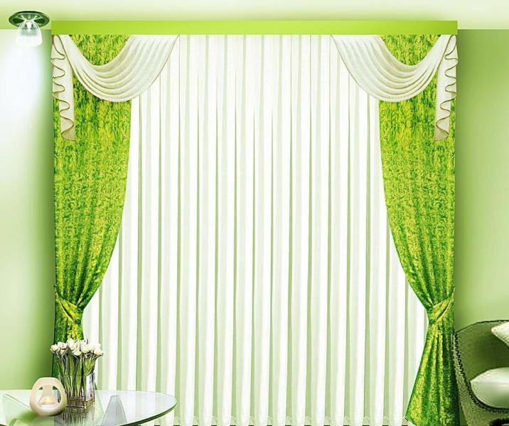 Ламбрекен - это декоративный элемент драпировки окна, который располагается горизонтально в верхней части штор