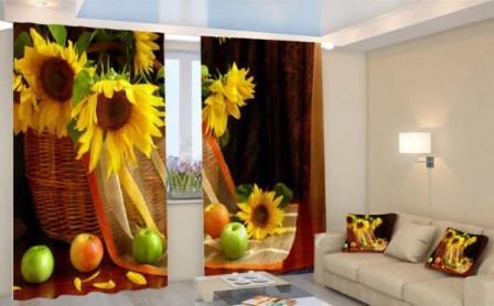 Среди многообразия текстиля для окон отдельного внимания заслуживают 3Д-шторы