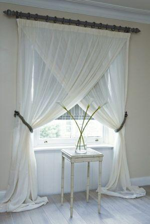 Тюль на окнах придаст интерьеру неповторимый шарм