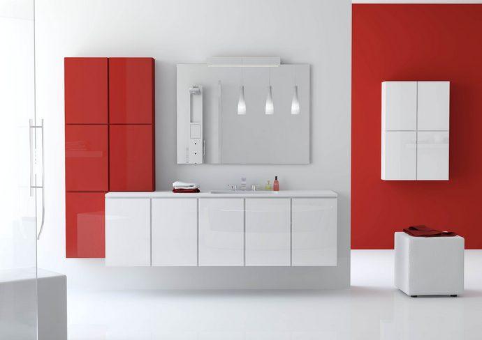 Мебель для ванной должна быть удобной и функциональной