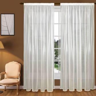 Сегодня достаточно популярны шторы из вуали