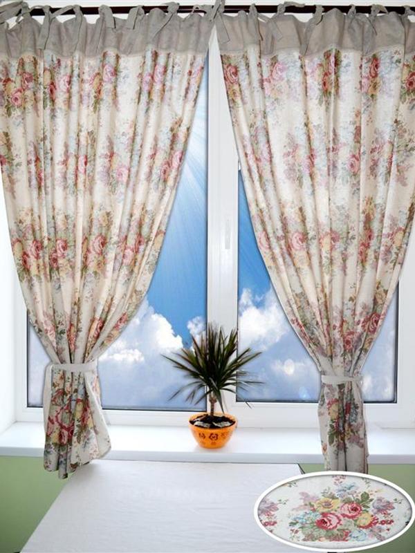Дизайн штор в провансе позволяет рукодельницам пофантазировать