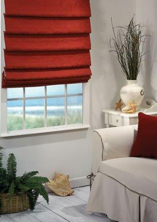 Римская или романская штора - это простой и функциональный аналог обыкновенной шторы