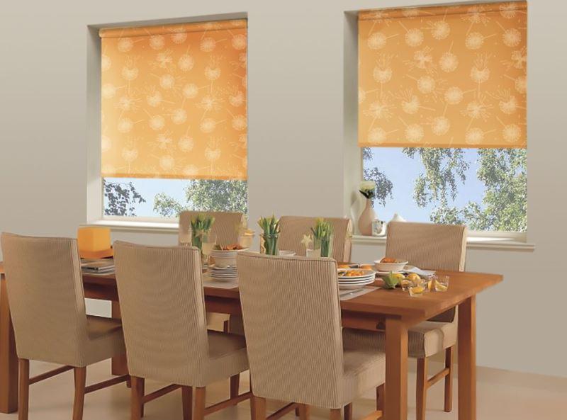 Несомненно, шторы рулонного типа способны создать уют и особую атмосферу на кухне