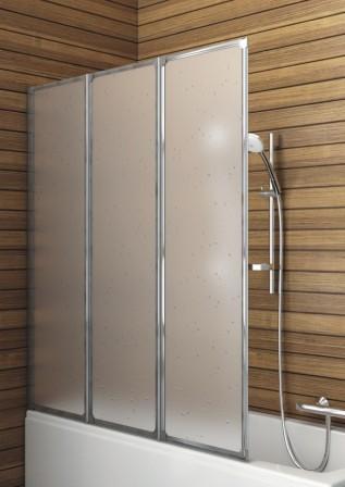 Современная ширма придаст ванной комнате дополнительный шик