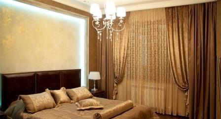 Шторы для спальни должны представлять собой единство красоты и стиля