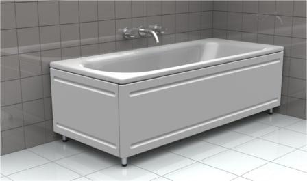 Благодаря высокой теплопроводности исходного материала, горячая вода в такой ванне остывает несколько быстрее, по сравнению с изделием из чугуна или акрила
