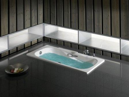 Ванны из стали прослужат вам много лет, не теряя при этом свои положительные качества и привлекательный внешний вид