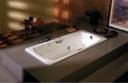 Ванна из стали очень проста в уходе