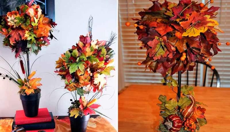 Осенью листья клена покрываются причудливыми рисунками желтого, оранжевого, красного, багряного и зеленого цветов