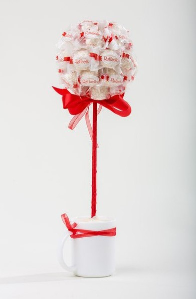 Вместо конфет можно использовать рафаэлло (фото 2)