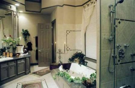 Вся мебель и двери в ванной комнате должны быть влагостойкими
