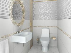 Как выбрать плитку в туалет